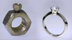 El joyero español que es viral por convertir dos tuercas en un anillo de