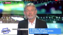 Bertrand Chameroy prend Gilles Verdez à son propre jeu après sa première sur