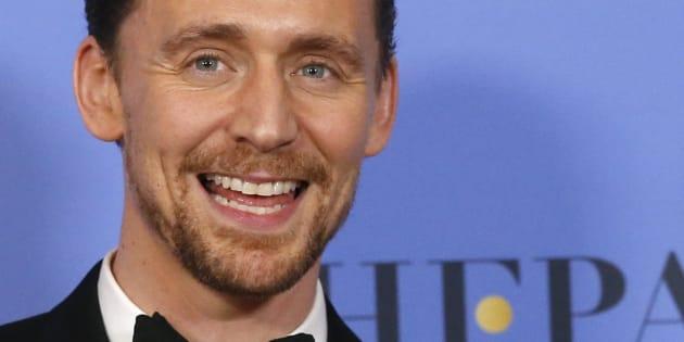 Tom Hiddleston aux Golden Globes le 8 janvier 2017