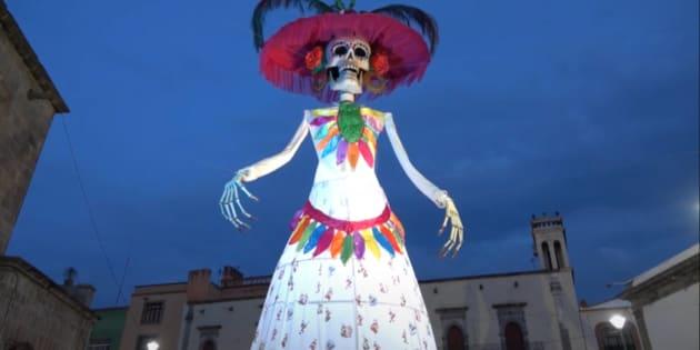 Jalisco Obtiene Récord Guinness Por La Catrina Más Alta Del Mundo