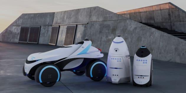 """Les robots de sécurité à la mode malgré le """"suicide"""" de l'un d'entre eux"""