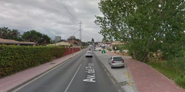 Zona de Marbella donde han ocurrido los hechos.