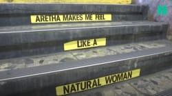 À la station Franklin, le métro new-yorkais a rendu hommage à la reine de la