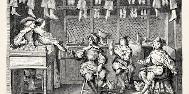 Cobblers, or shoe makers, were commonly referred to as 'snobs.'