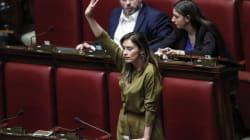 Maria Elena Boschi contro Roberto Fico: