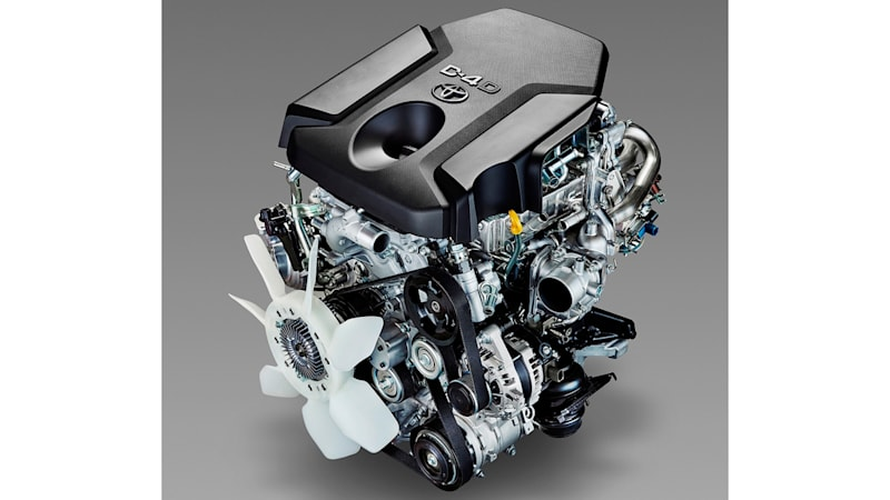 Toyota's new turbodiesel engines are stronger, lighter, cleaner [w