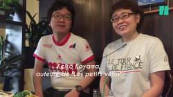 BLOG - Cette Japonaise passionnée de cyclisme en ont fait un manga avec des animaux
