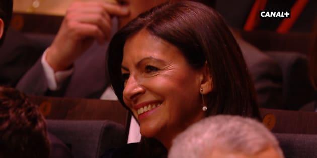 Anne Hidalgo, salle Pleyel, lors de la cérémonie des César 2018.
