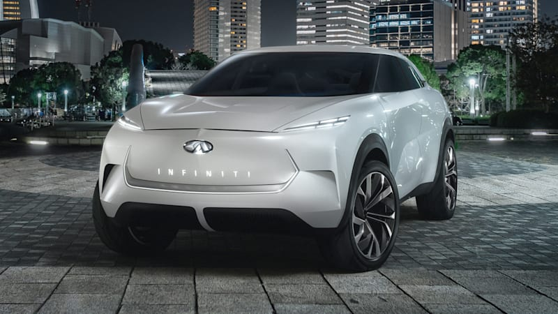 2020 Infiniti QX30 Becomes Electric Crossover SUV >> Infiniti Qx Inspiration Previews Electric Crossover Future