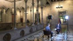 Puigdemont dice que Cataluña declarará la independencia en cuestión de días, según la