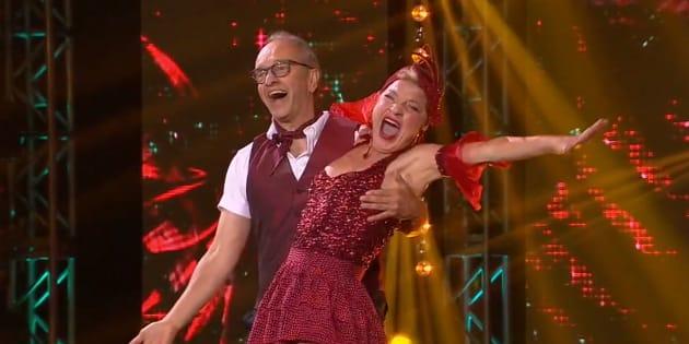 Marcel Leboeuf et Johanne Fontaine aux «Dieux de la danse».