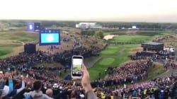 Les images de la folle ambiance à la Ryder Cup dès l'aube en ce jour