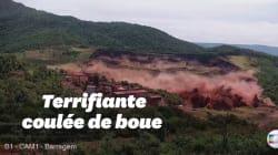 Les terribles images de la rupture du barrage au