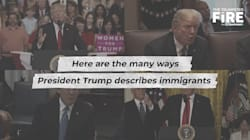 WATCH: A Reel Of Donald Trump's Anti-Immigrant