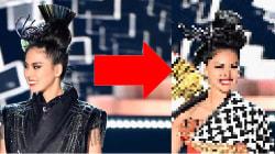 ミス・ユニバース日本代表、阿部桃子が世界を驚かせた早変わりショー、どんな衣装?