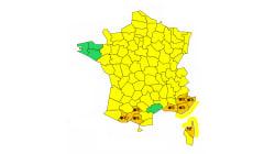 7 départements en alerte orange aux chutes de neige ce