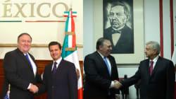 VIDEO: Así fue la primera visita de Mike Pompeo a México, entre Peña y