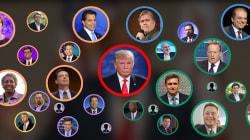 Démissions, limogeages... L'an 1 de Trump a été un film d'horreur pour son