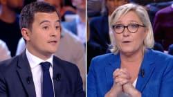 Face à Darmanin, Le Pen n'a pas totalement effacé le débat d'entre-deux