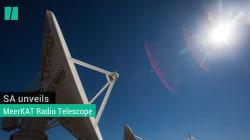 WATCH : SA Unveils MeerKAT Radio