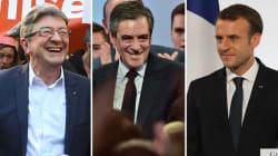 Mélenchon, Fillon, Macron... Qui remportera le prix de l'humour politique