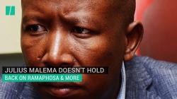 WATCH : Julius Malema Pours Scorn On Ramaphosa And Others.