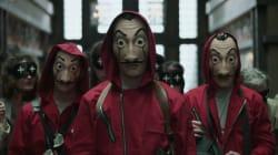 Cae una banda que usaba máscaras como las de 'La casa de