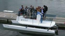 Un bateau qui carbure... au