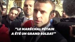 Macron sur Pétain : les propos et les