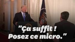 Pendant sa conférence de presse post midterms, Trump s'en prend à un journaliste de