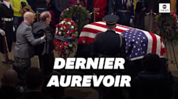 L'adieu de ce sénateur à George Bush a profondément ému les