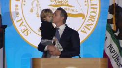 Le fils du nouveau gouverneur de Californie lui a volé la