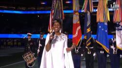Gladys Knight a fait l'unanimité au Super Bowl