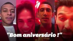 Neymar a fêté ses 27 ans entouré des joueurs du