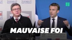 Macron dénonce la
