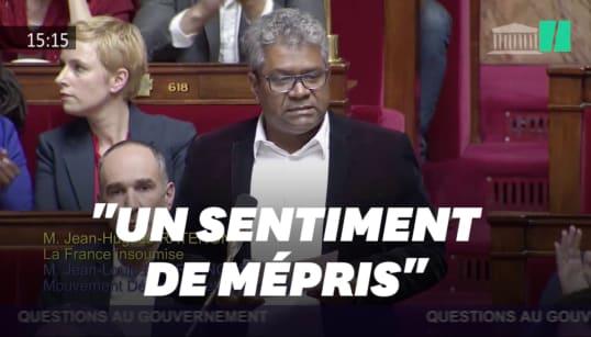 Ce député réunionnais a été applaudi par toute l'Assemblée après les injures racistes de
