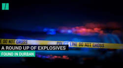 WATCH: A Roundup Of Explosives Found In