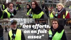 Des gilets jaunes répondent à Macron sur le