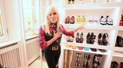 Donatella Versace mostra su Instagram il suo guardaroba. I follower in delirio: