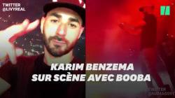 Booba a invité Benzema sur scène à son concert à la Défense