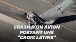 Un avion sorti d'une autre époque s'écrase en