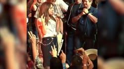 Lady Gaga canta Bad Romance sul set di