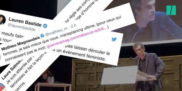 Raphaël Enthoven et son long monologue à l'université d'été du féminisme sont très mal passés