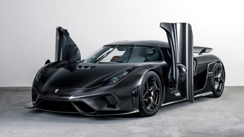Koenigsegg creates a lighter, special Regera with hand-polished bare carbon fiber