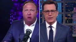 Stephen Colbert Shreds Donald Trump's 'Phone Buddy' Alex