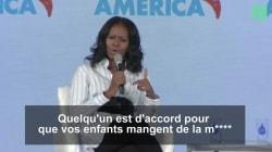Michelle Obama est très en colère que Trump ait supprimé son programme pour les repas sains à