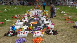 Desaparecidos en Guanajuato: Los recuerdan con ofrenda en fosa