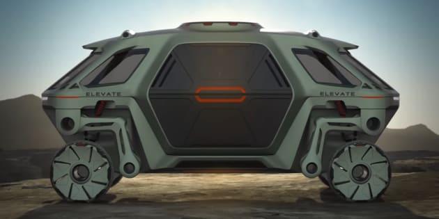 Concept Hyundai Elevate — CES