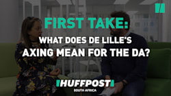 First Take On De Lille: 'DA Alienating Itself From A Young Black