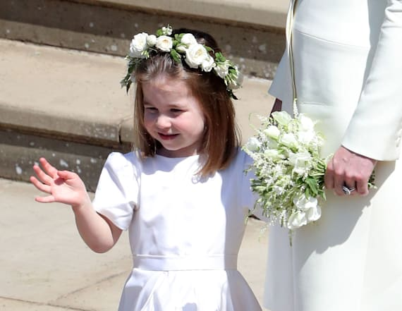 Princess Charlotte masters the royal wave